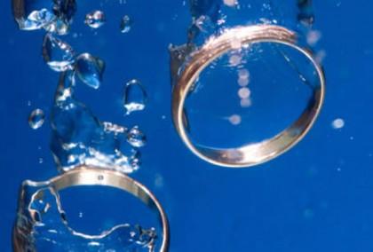 кольца в воде