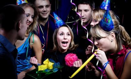 вечеринка в день рождения