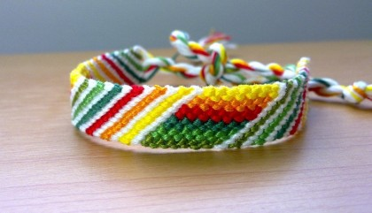узловой браслет