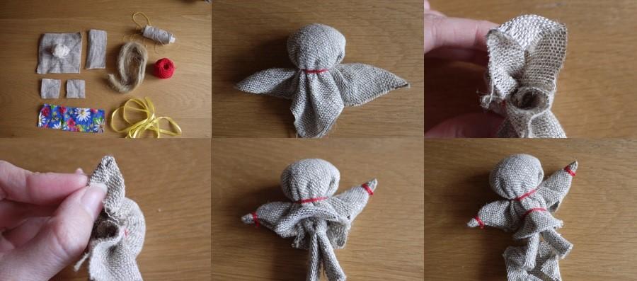 Кукла на счастье, шаг 1