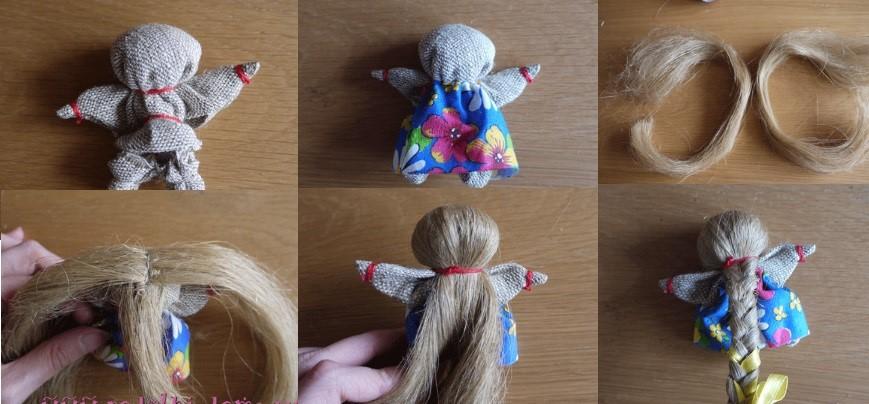Кукла на счастье, шаг 2