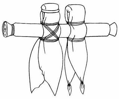 неразлучники - свадебная кукла