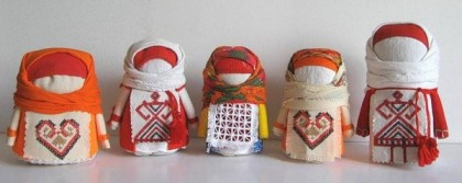 славянские куклы-мотанки