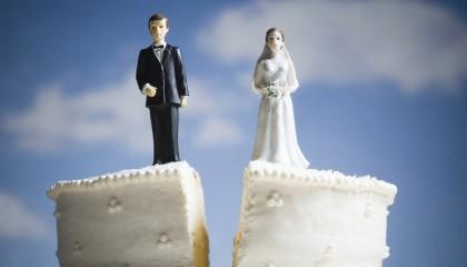 свадебный торт пополам