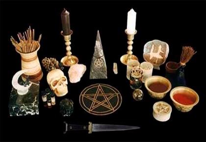 атрибуты чёрной магии
