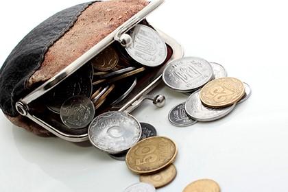 кошелёк с монетами