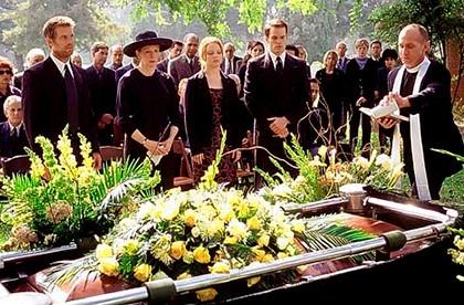 американские похороны