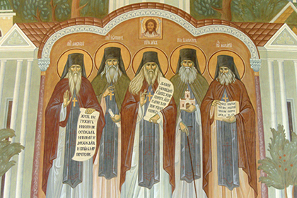 оптинские монахи