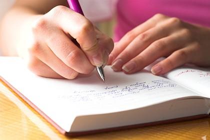 писать в блокноте