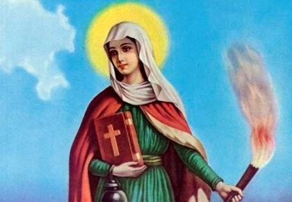 Молитва на желание святой марте