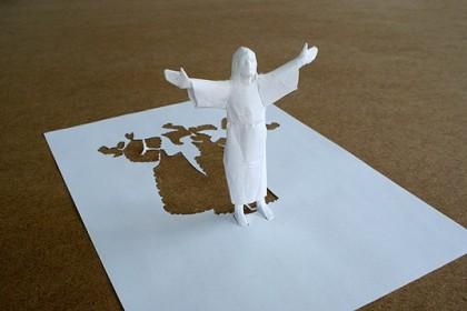 бумажный Иисус