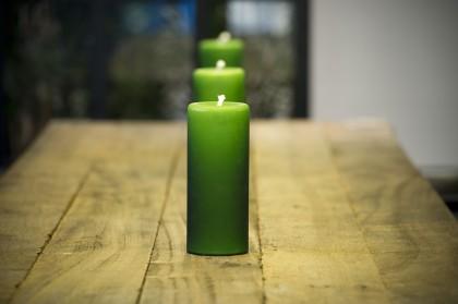 зелёные свечи