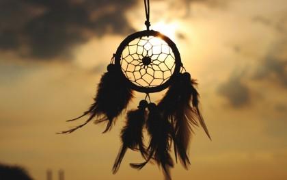 ловец снов на закате